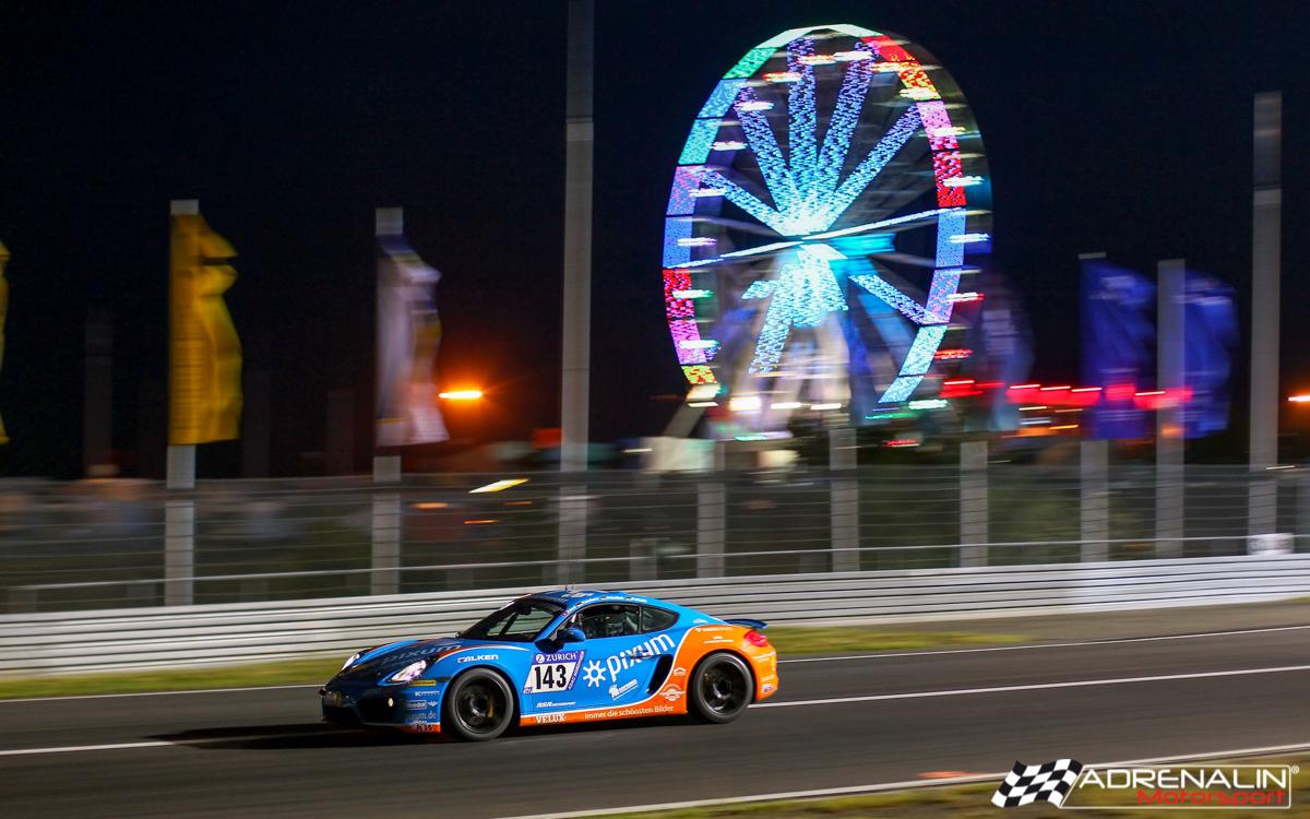 PIXUM Team Adrenalin Motorsport bringt alle neun Autos beim 24h-Rennen erfolgreich ins Ziel